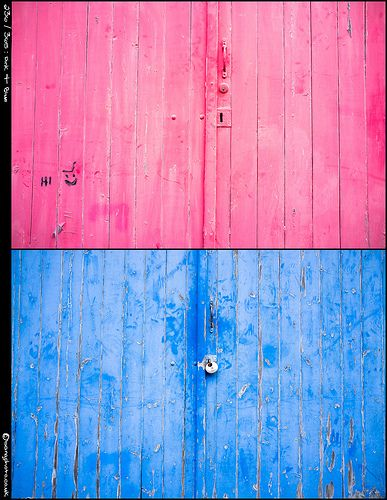 Pink & Blue by bang   Photography