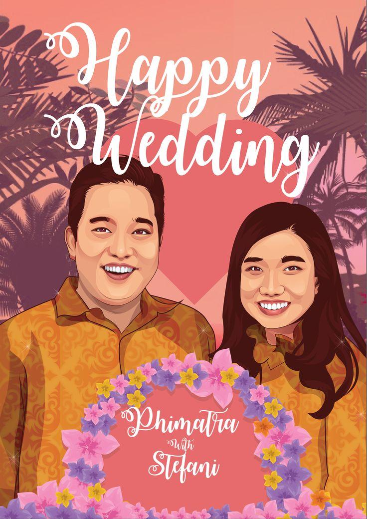 Vector wedding  untuk phimatra