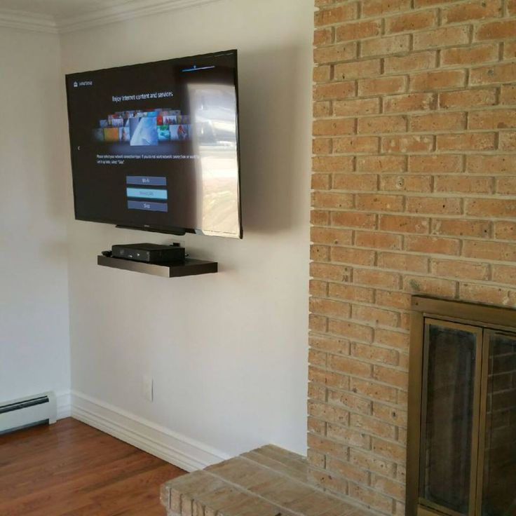 1000 Ideas About Tv Mount With Shelf On Pinterest
