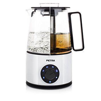 Petra Wasser- und Teekocher mit Induktion, sehr sparsam mit Warmhaltefunktion [Energieklasse A]