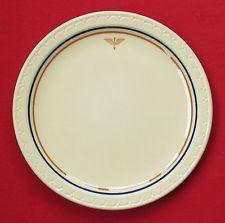 1941 Aaf Air Corps Flight Cadet Mess Hall Dinner Plate