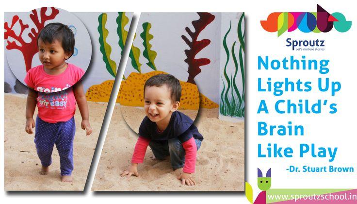 #Children blossoming in a nurturing environment. http://www.sproutzschool.in/