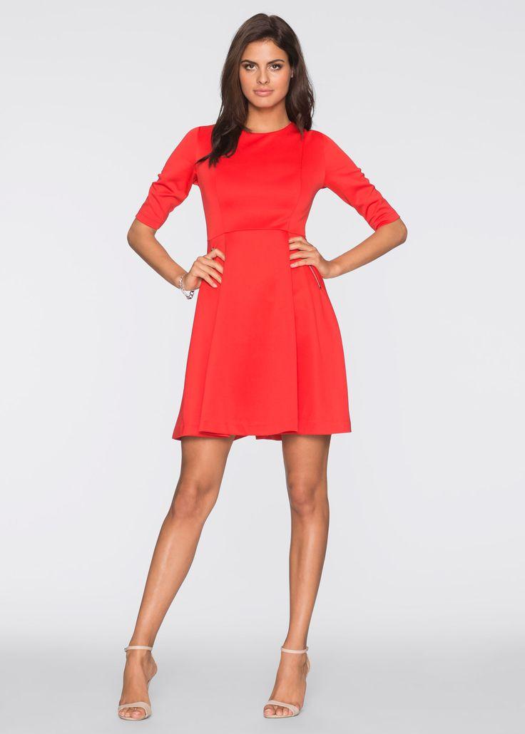 Scuba-Kleid rot - BODYFLIRT jetzt im Online Shop von bonprix.de ab ? 27,99 bestellen. Verspieltes Scuba-Kleid der Marke BODYFLIRT mit ausgestelltem Rock. ...