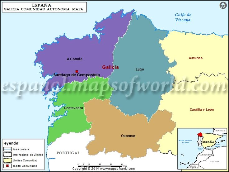 Las 25 mejores ideas sobre mapa de galicia en pinterest for Piscinas naturales urederra
