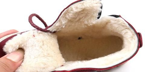 Shoes Winter Warm Leather Snow Martin Boots with plush or fleece lining (can choose)