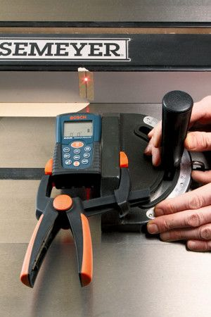 How to Square Your Table Saw's Miter Gauge by Using Your Laser Level