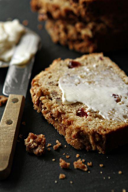 Apple Pie Bread   My Baking Addiction   Inspired by: The Davis Chino #ClubMonacoChinos