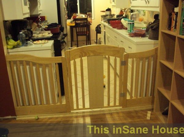 Baby Gate From Reclaimed Crib How To Make A Baby Gate For