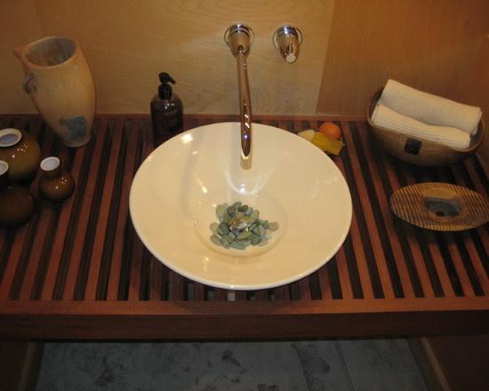 Zen Bathroom Sinks 59 best rock's -n- my bathroom sink images on pinterest | bathroom