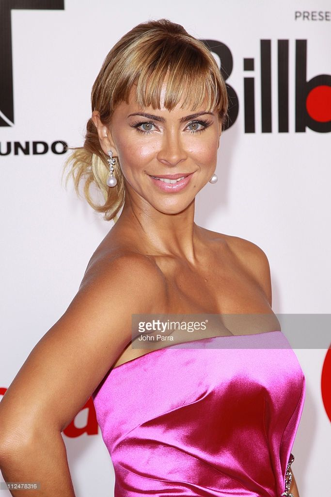 Aylin Mujica arrives for the 2009 Billboard Latin Music Awards at Bank United Center on April 23, 2009 in Miami.