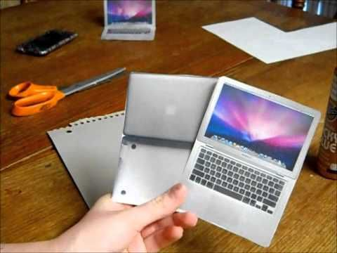 How To Make A MacBook Air For Dolls!