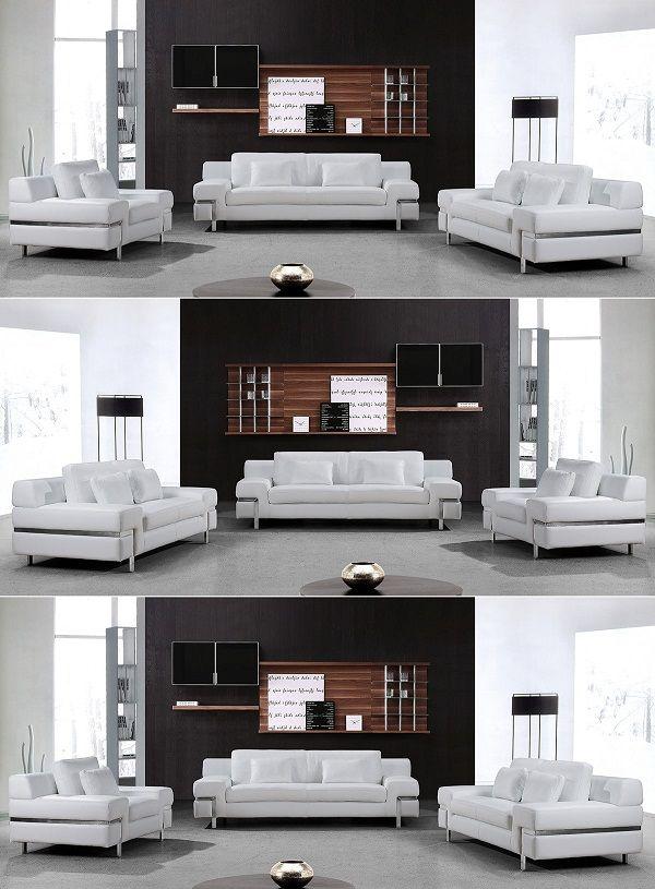 White Leather Sofa Set Sofa Sofadesign Sofaideas Sectional Sectionalsofa Furniture Furnituretrends Furniture Design F Leather Sofa Set Sofa Set White Leather Sofas