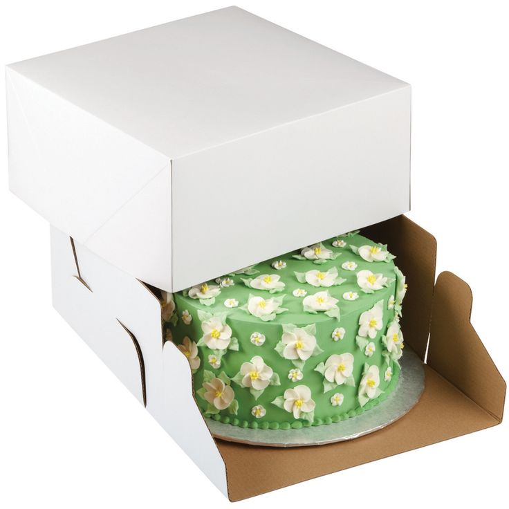 Wiltoncorrugated cake box a convenient way to hold and