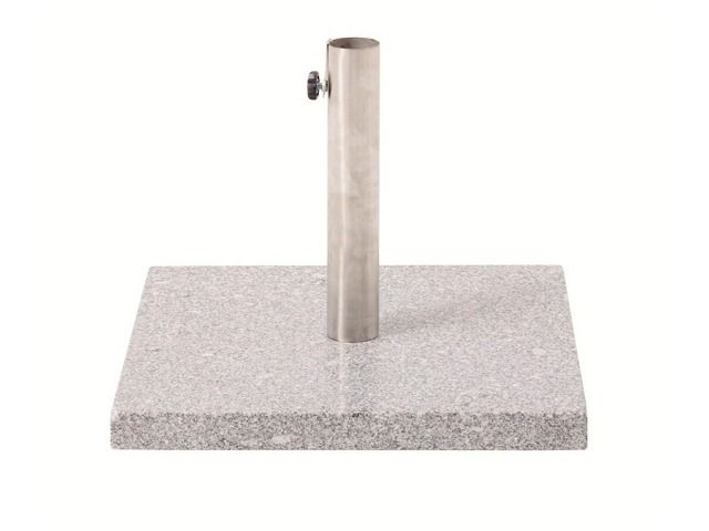 Granite umbrella baseplates add style and elegance to any umbrella. The polished natural stone will last forever and never go out of fashion - Available at Shade Australia