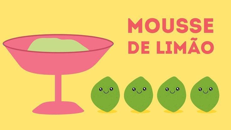 Curta com Sabor 01 - Mousse limão
