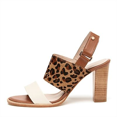 Sporto Heeled Sandal. Every girl loves a bit of leopard print in their shoe collection :) #mimcomuse