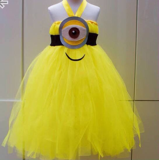 Minion meisje Halloween outfit