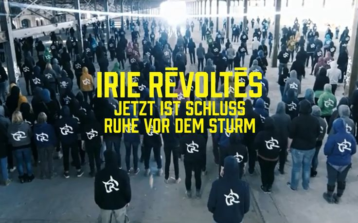Irie Révoltés - Jetzt ist Schluss // Ruhe vor dem Sturm http://www.songtexte.com/songtext/irie-revoltes/jetzt-ist-schluss-2b7c6cba.html http://www.songtexte.com/songtext/irie-revoltes/ruhe-vor-dem-sturm-337c6cc5.html
