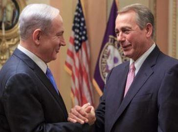 Speaker of House with Israeli  Prime Minister breaking U.S. protocols.