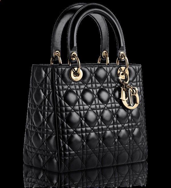 LADY DIOR - Sac Lady Dior cuir noir