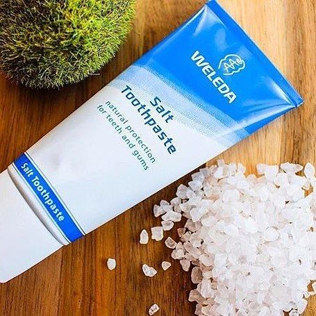 Great way to start the day with natural salt toothpaste by #weleda.  Using sea salt to stimulate salivation which increases the cleaning power using our natural properties while Ratanhia Myrrh and Chestnut Bark help to whiten the teeth and promote healthy gums.  Shop at:  http://ift.tt/2dEhNMt  @mrneoluxe