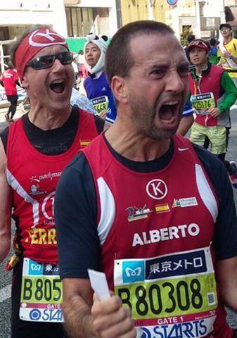 Los Grandes del Maratón Mundial: Maratón de Nueva York, Maratón de Boston, de Chicago, de Berlín, de Londres y, desde 2013, el de Tokio. El club Kalamos hace