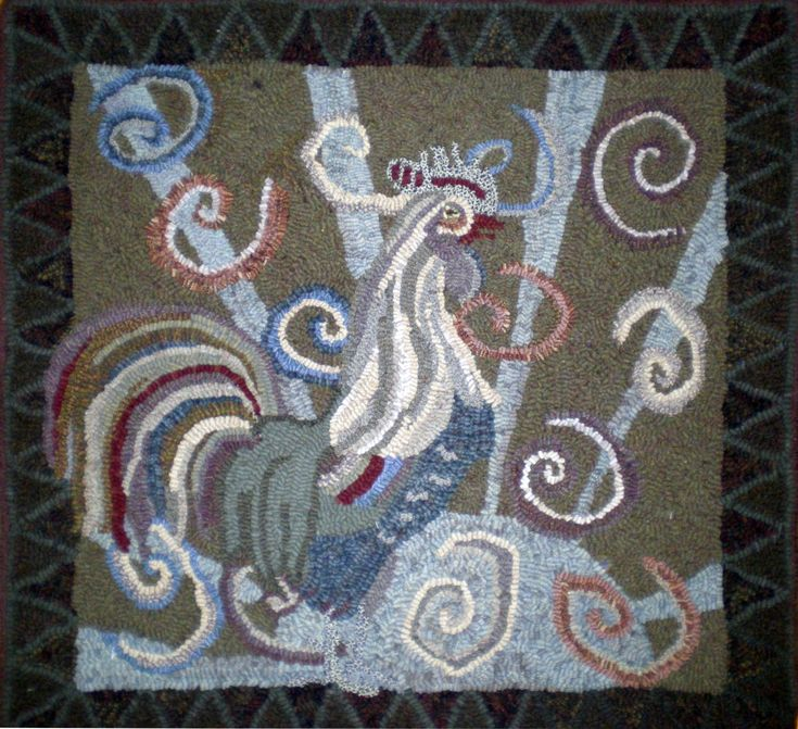 904 Best Completed Rug Hooking Patterns Images On Pinterest