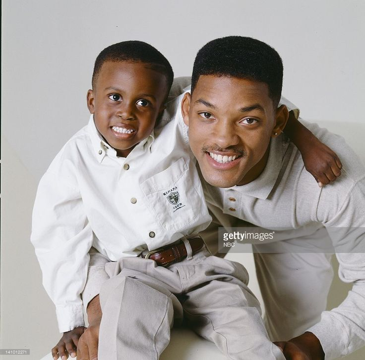 THE FRESH PRINCE OF BEL-AIR -- Season 5 -- Pictured: Ross Bagley as Nicky Banks, Will Smith as William 'Will' Smith -- Photo by: Gary Null/NBCU Photo Bank, 1994