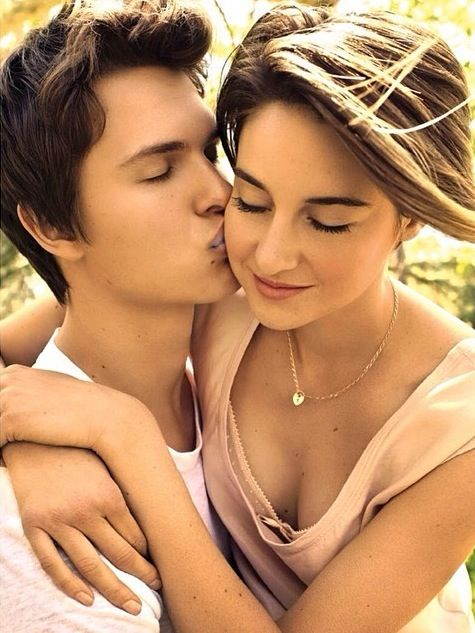 The Fault In Our Stars's Ansel Elgort and Shailene woodley for EW