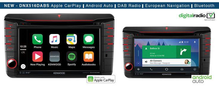 Volkswagen Commercial Vehicles DNX516DABS Apple CarPlay Android Auto Garmin Navi System • Kenwood UK
