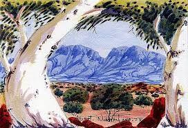 Image result for albert namatjira famous paintings