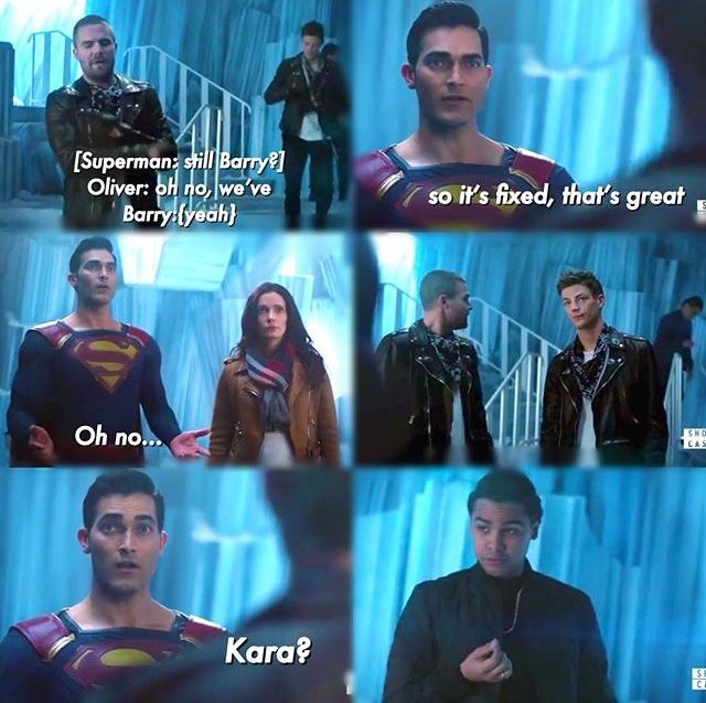 Elseworlds Part 3 Supergirl 4x09   Arrow/ Flash/ Legends of