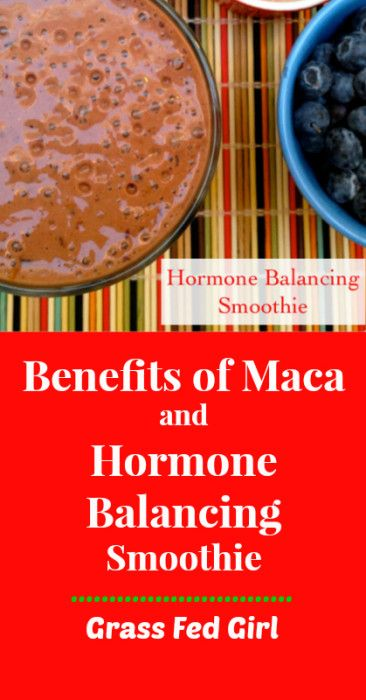 Benefits of Maca and Hormone Balancing Smoothie
