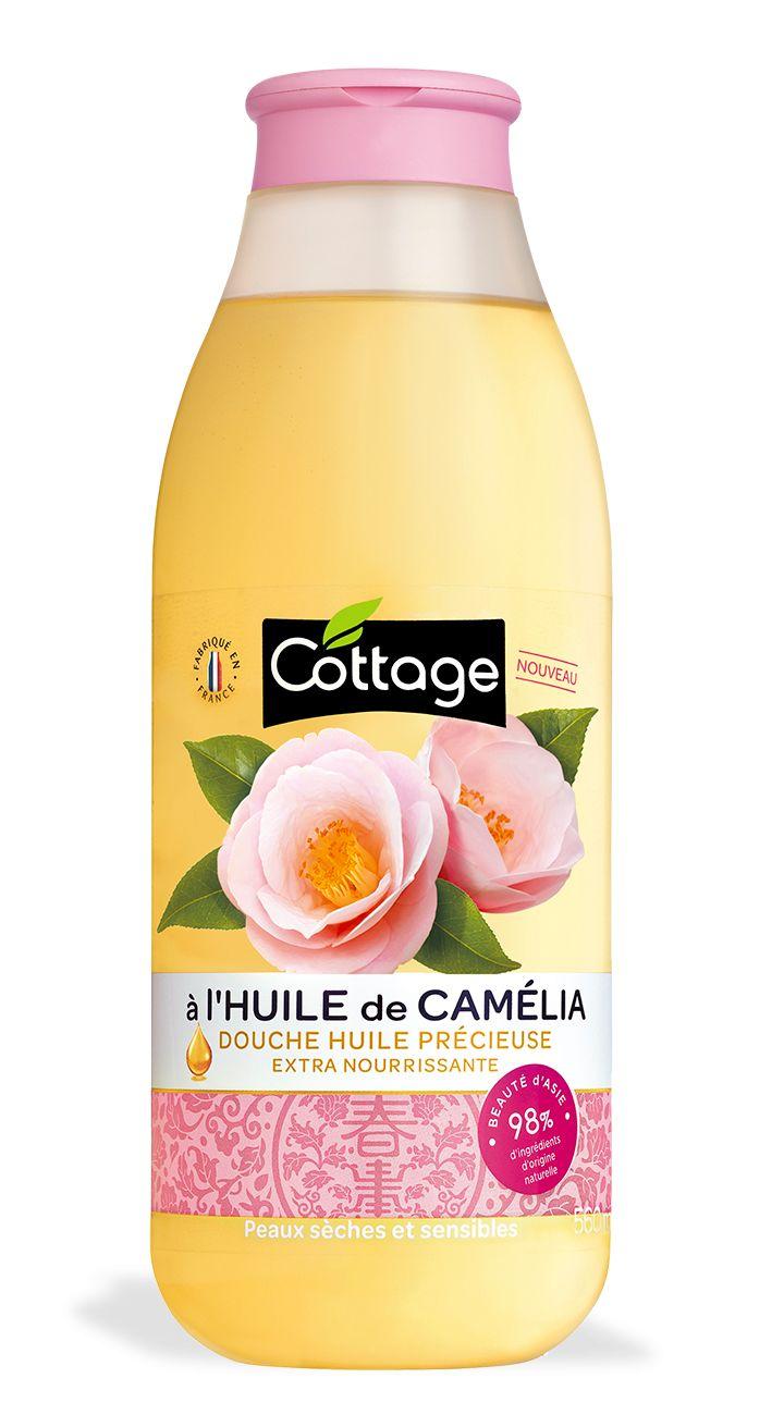 Douche Huile Précieuse Extra-Nourrissante - 98% d'ingrédients d'origine naturelle - Cottage France