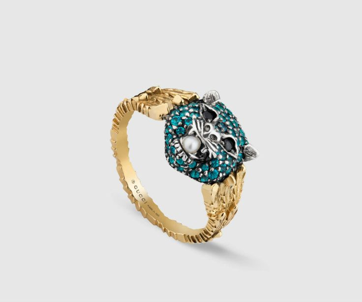 Le Marché des Merveilles ring by Gucci ➤ Discover more luxury lifestyle news at www.covetedition.com @covetedition #covetedmagazine @covetedmagazine #luxurylifestyle #gucci @gucci #jewellery