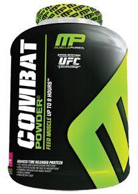 Muscle Pharm                        Combat Triple Berry, 4.0 Pound , Powder... good option. a little high calorie.