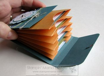 Coin envelope book: I would put 7 envelopes together and store a verse for each day of the week in it.