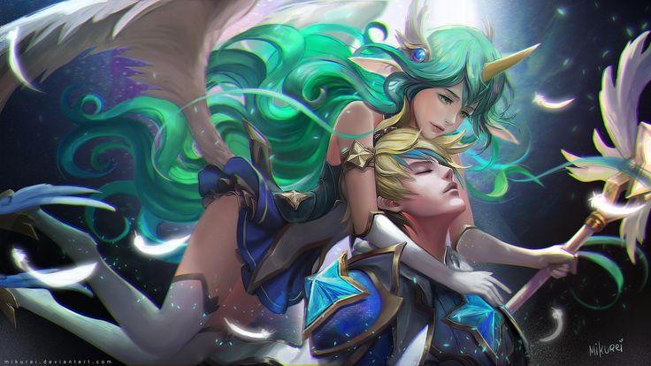 Star Guardian Soraka and Ezreal | Звездная защитница Сорака и Эзраель @League of Legends | Лига Легенд #LoL #ЛоЛ