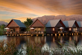 Capetown lodges on a lake... beautiful.