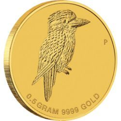 Mini Kookaburra 2014 0.5g Gold Coin
