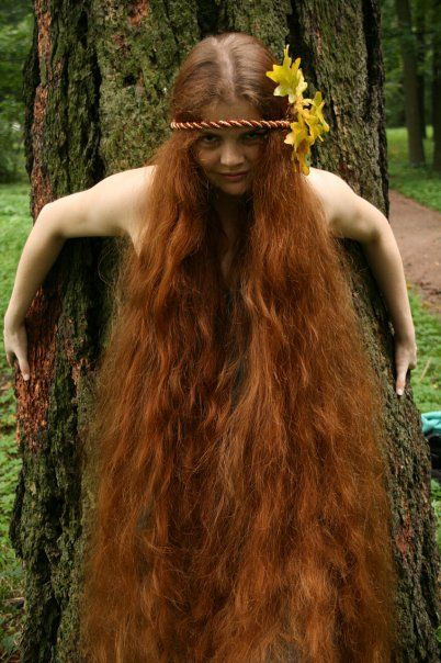 Elizaveta Orlova My Fav Long Hair Styles Red Hair
