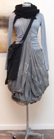 rundholz fungi print skirt
