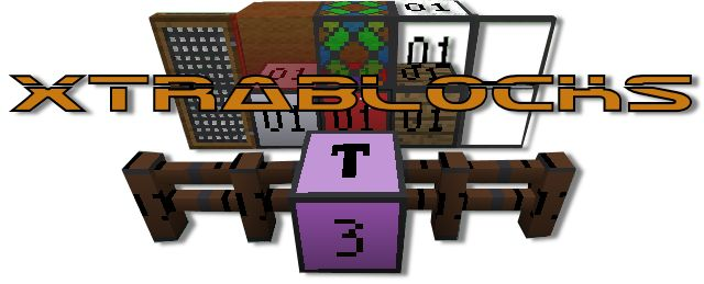 XtraBlocks Extreme Edition *Updated 19 March 2016 - Minecraft Mods - Mapping and Modding: Java Edition - Minecraft Forum - Minecraft Forum  Lastest version for MC 1.7.10