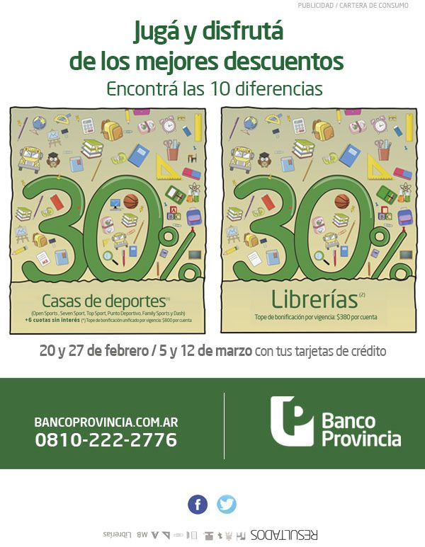 Banco de la provincia de Buenos Aires - Banca Personal - Vuelta al Cole