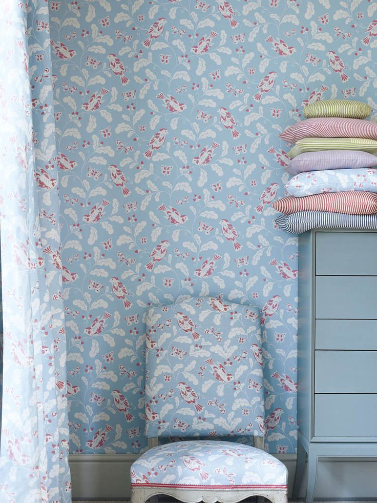 Jane Churchill wallpaper and fabrics available from Sue Foster Interiors, Emsworth www.suefoster.co.uk