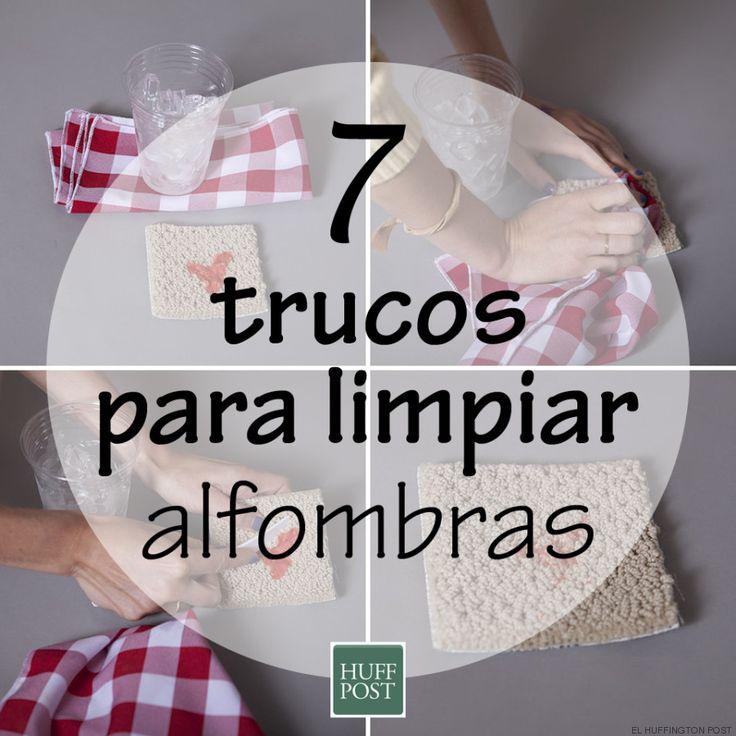 C mo limpiar alfombras siete trucos que funcionan o no - Como lavar alfombras ...
