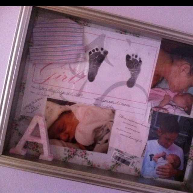 16 Best Baby Shadow Box Ideas Images On Pinterest Baby