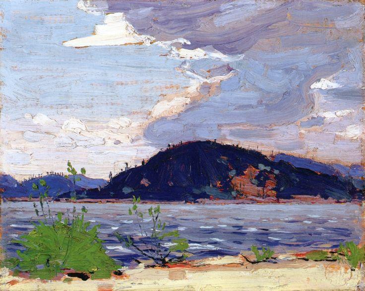 The Athenaeum - Spring, Canoe Lake (Tom Thomson - )