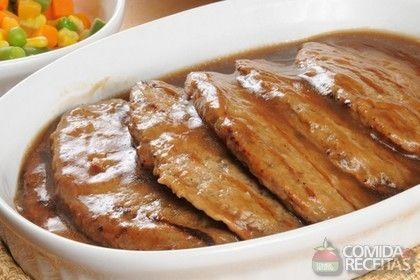 Receita de Lagarto com molho madeira em receitas de carnes, veja essa e outras receitas aqui!