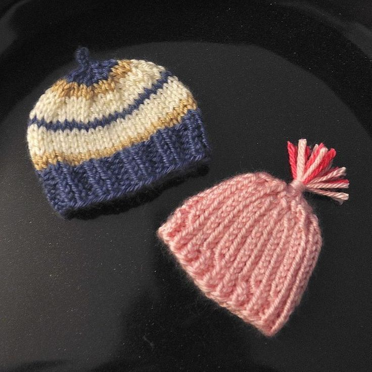 Itty Bitty Baby Pink #NICU Grad Preemie and Newborn Hats.